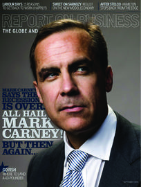 All hail Mark Carney / CEO of the year / Mighty Saskatchewan / In this corner
