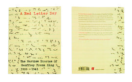A Red Letter Day: The Wartime Diaries of Geoffrey Frank King 1939-1941